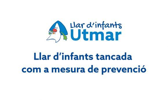 Llar d'infants tancada com a mesura de prevenció